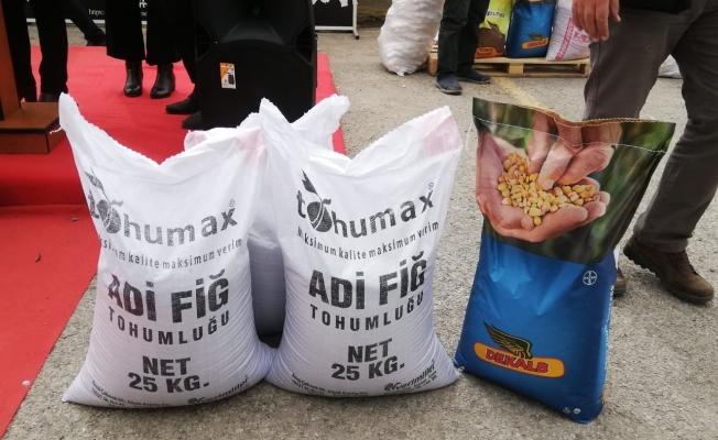 Erzurum'da Bitkisel Üretimi Geliştirme Projesi Tohum dağıtım programı