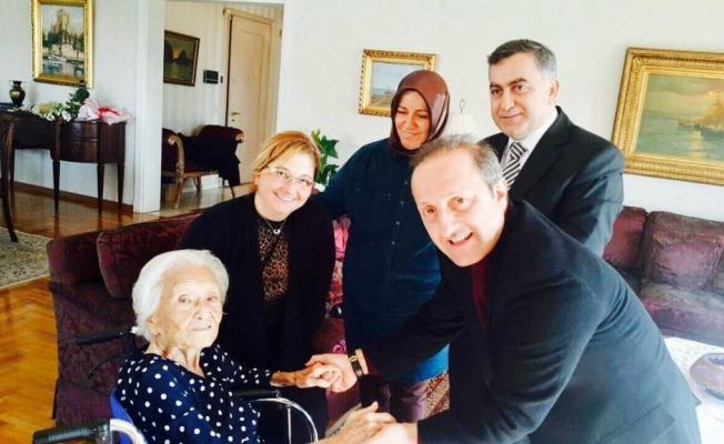 Eski bakanın eşi Alanya'da vefat etti