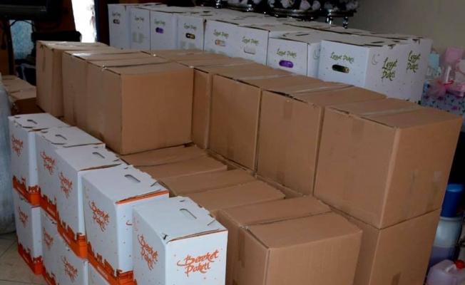 Gülüç Belediyesi kumanya paketlerini hazırladı