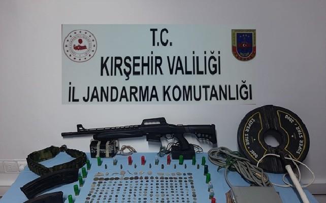 Kırşehir Jandarmadan tarihi eser operasyonu