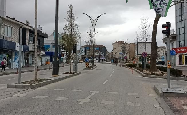 Kırşehir'de cadde ve sokaklar boşaldı