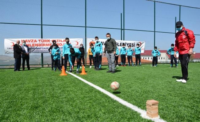 """""""Kızılay İle Spor ve Sanat Günleri"""" etkinliği"""