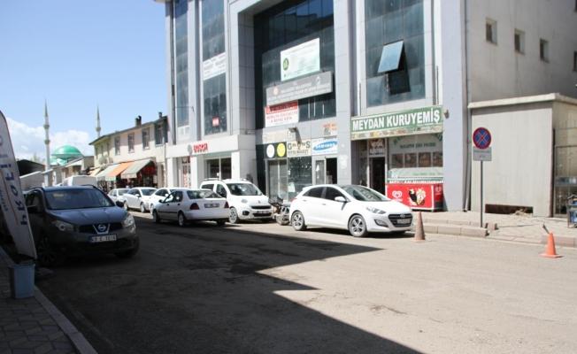 Malazgirt'te sokaklar boş kaldı