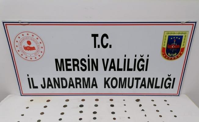 Mersin'de Bizans dönemine ait tarihi eserler ele geçirildi