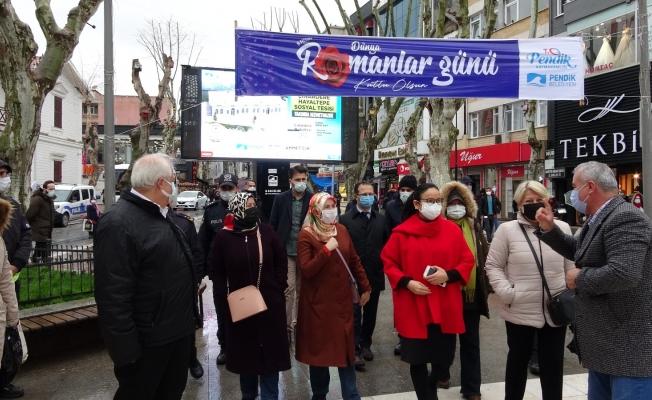 Pendik'te Dünya Romanlar Günü kutlaması
