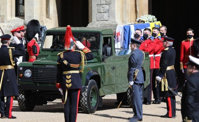 Prens Philip'in cenaze töreni başladı