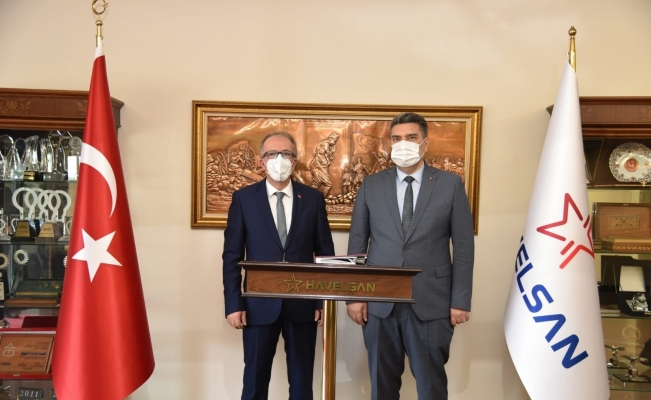 Rektör Uzun, Havelsan Genel Müdürü Nacar'ı ziyaret etti