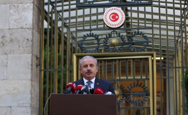 """TBMM Başkanı Şentop: """"Mısır ve Libya ile Dostluk Grubu kurulması önemli"""""""