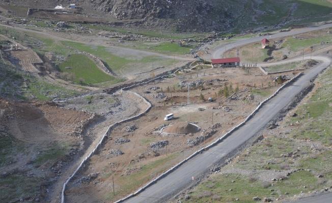 Terörün yerini huzur aldı, AK Partili belediye Avaspi Yaylası'na mesire alanı yapıyor
