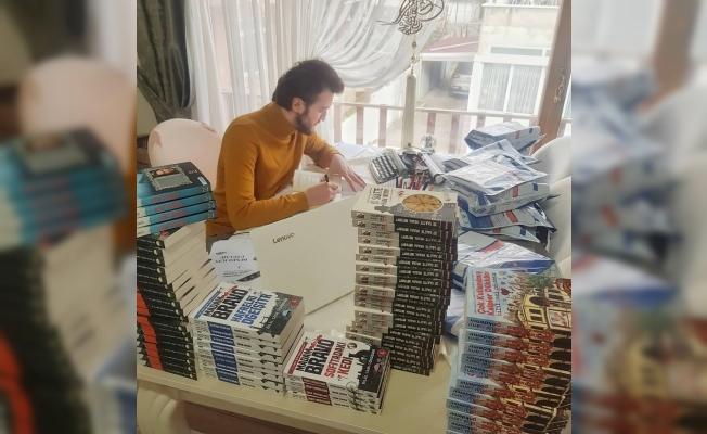 Yazar Bilal Sami Gökdemir'den askıda kitap kampanyası
