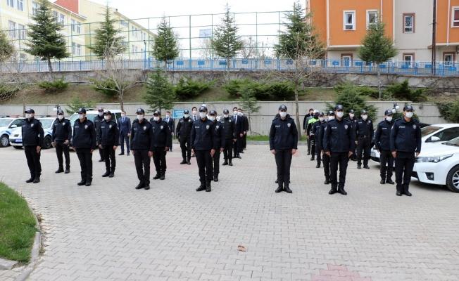 Yozgat'ta 13 komiser yardımcısı göreve başladı