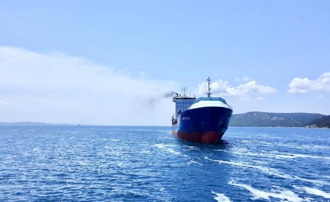 136 metrelik gemi Çanakkale'de arızalandı