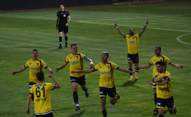 3. Lig Play-Off: 1928 Bucaspor: 2 - Arnavutköy Belediyespor: 0
