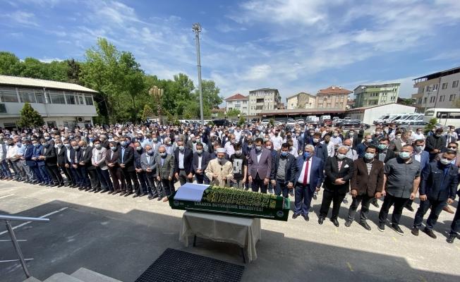 Adapazarı Belediye Başkanı Işıksu'nun babası son yolculuğuna uğurlandı