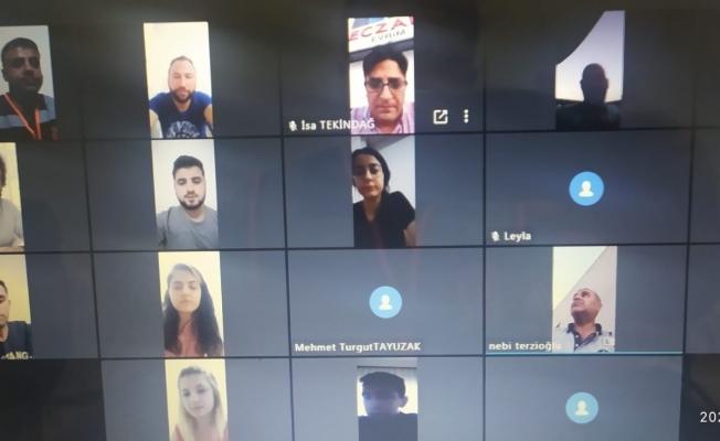 AFAD gönüllüleri video konferansla bayramlaştı