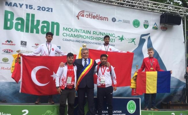 AİÇÜ Rektörü Prof. Dr. Karabulut, balkan şampiyonu sporcuyu kutladı