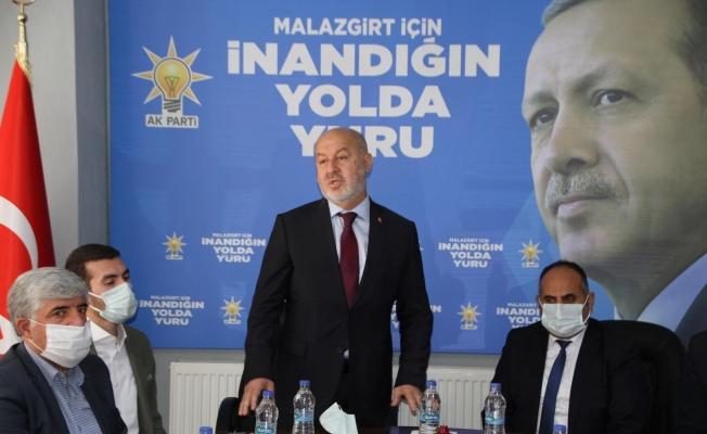AK Parti İl Başkanı Avcı Malazgirt'te