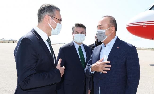 Bakan Çavuşoğlu Batı Trakya'da