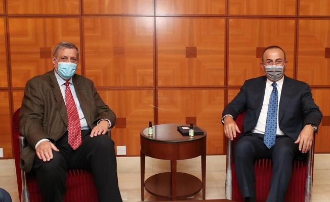 Bakan Çavuşoğlu, BMGS Libya Özel Temsilcisi Kubis ile görüştü