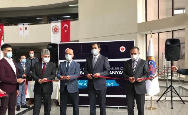 Bakırköy Adalet Sarayı'nda 'Kitap Bağış Kumbarası' kuruldu