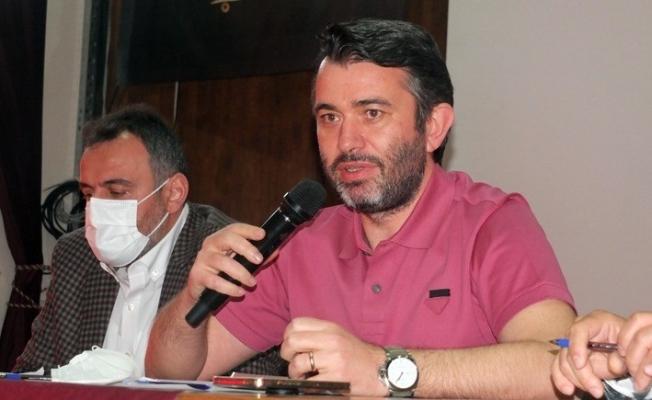 Bandırmaspor'da Onur Göçmez, adaylıktan vazgeçti