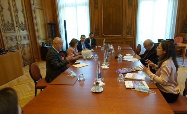 Başkan Şahin OECD Genel Sekreteri Angel Gurra ile görüştü