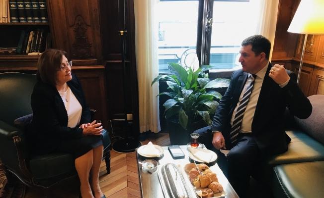 Başkan Şahin'den OECD Türkiye Daimi Temsilcisi Alkin'e ziyaret