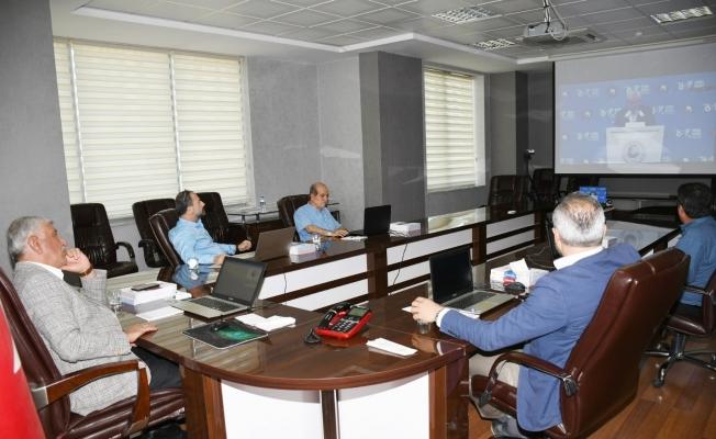 Başkan Uslu ve beraberindekiler TOBB genel kuruluna katıldı