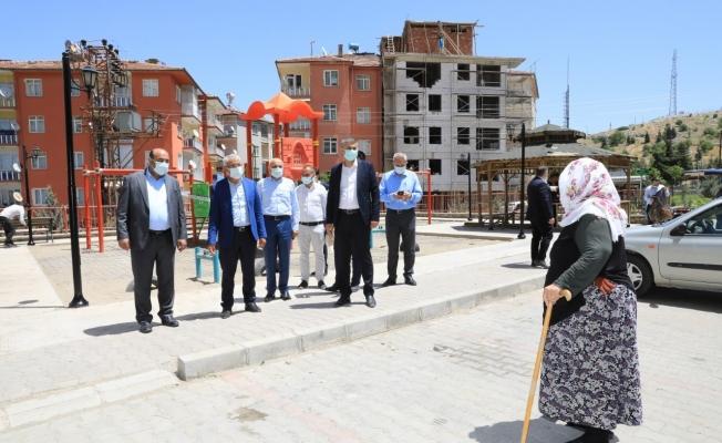 Battalgazi'deki 32 parkta yenileme çalışması başladı