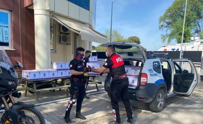 Biga Emniyetinden ihtiyaç sahiplerine ramazan yardımı