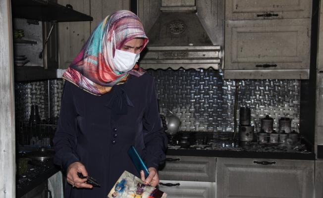 Boşanma aşamasındaki adam davalık olan evini benzin dökerek ateşe verdi