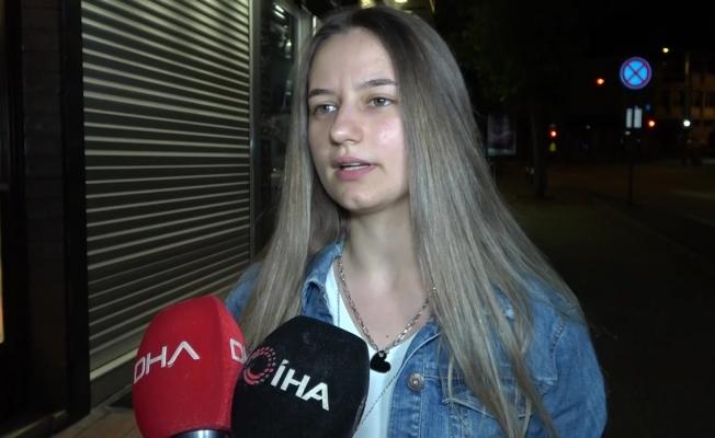Bursa'da genç kızın telefonu böyle çalındı