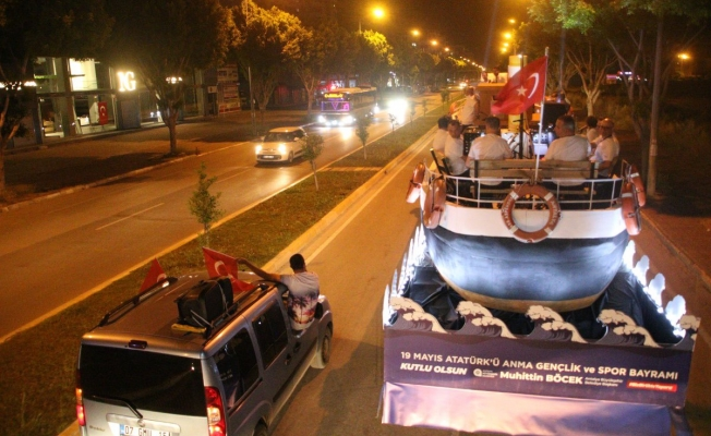 Büyükşehir'in 19 Mayıs mobil etkinliği bugün Alanya'da