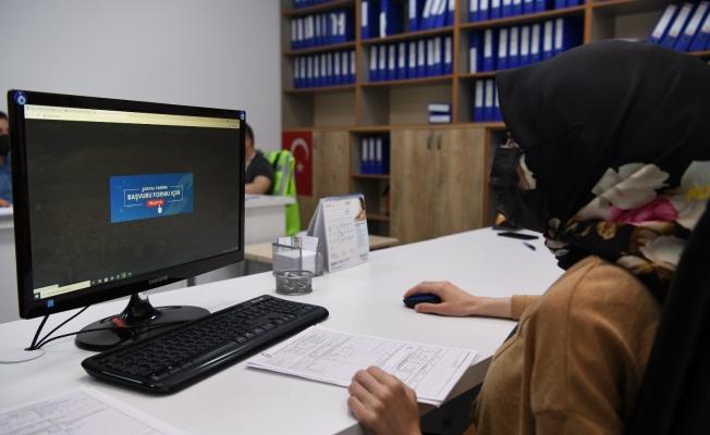 Çayırova'da sosyal yardım başvuruları online alınıyor
