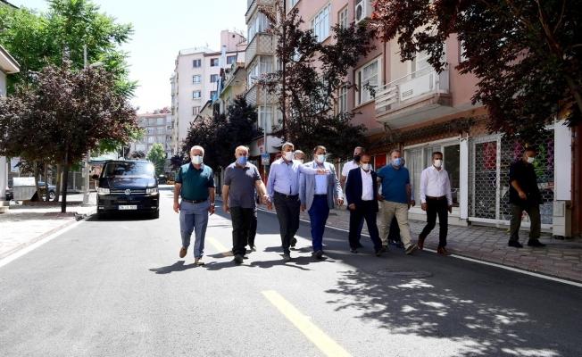 Cezmi Kartay Caddesi'ndeki yenileme çalışmaları tamamlandı