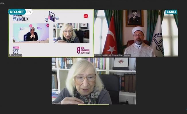 """Diyanet İşleri Başkanı Prof. Dr. Erbaş: """"Bilgi üreten ve yayıncılık yapanlar, dijital dünya ile ilişkilerini sürekli güncel tutmalıdır"""""""
