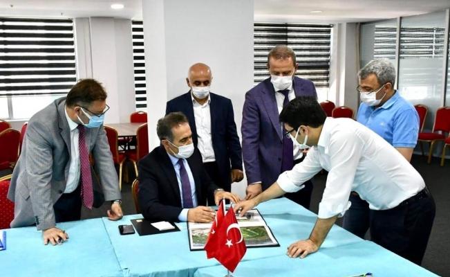 Edremit'te eğitim ve spor yatırımları masaya yatırıldı