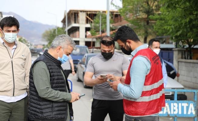 Erzincan'da pazaryerlerine HES kodu sorgulaması yapılarak giriş yapıldı
