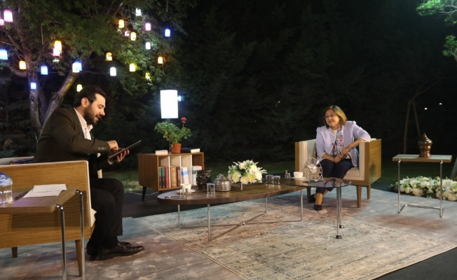 Gaziantep'te Fatma Şahin'le bayrama özel program