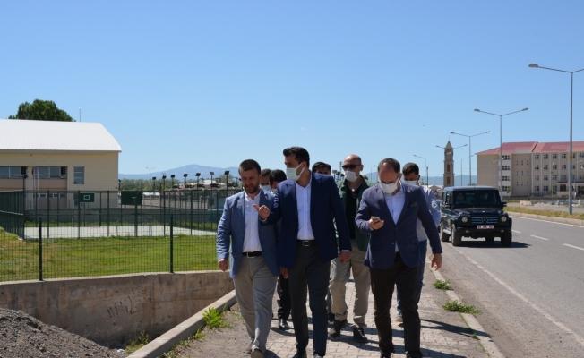 Gençlik ve Spor Bakanlığı heyeti Bulanık'ta