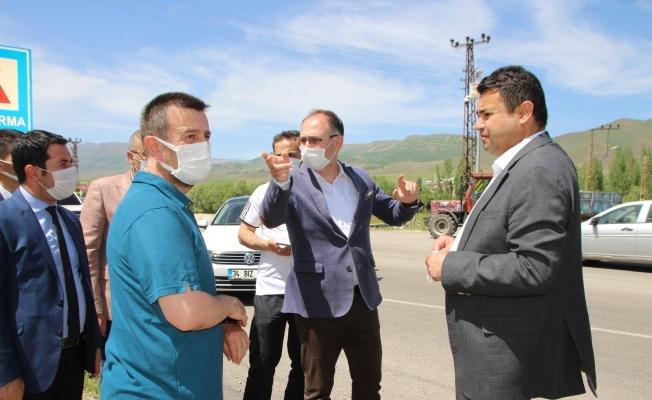 Gençlik ve Spor Bakanlığı heyeti yatırım için Varto'da