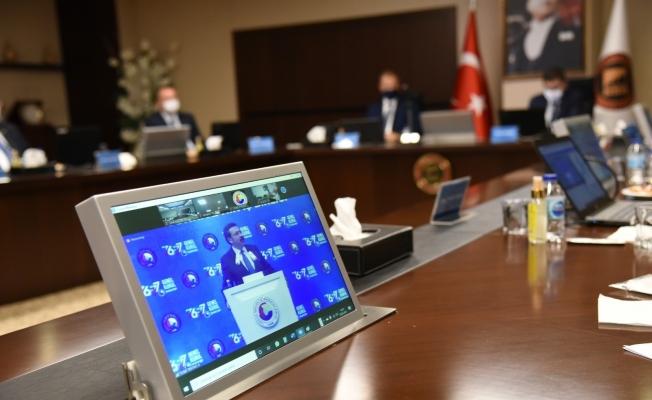 GSO TOBB Delegeleri, 76. ve 77. TOBB Genel Kurulu'na online katıldı