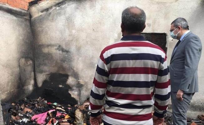 Havran'da 80 yaşındaki adamı ölüm uykuda yakaladı