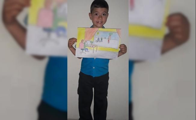 İlkokul öğrencisinden Alanya'yı gururlandıran başarı