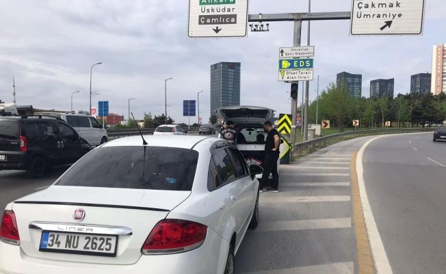 Trafikte tehlike saçan 10 sürücüye 17 bin 508 TL ceza