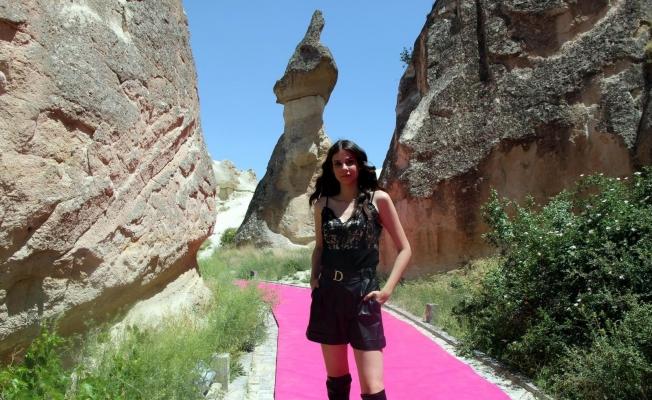 Kapadokya moda ile renklendi