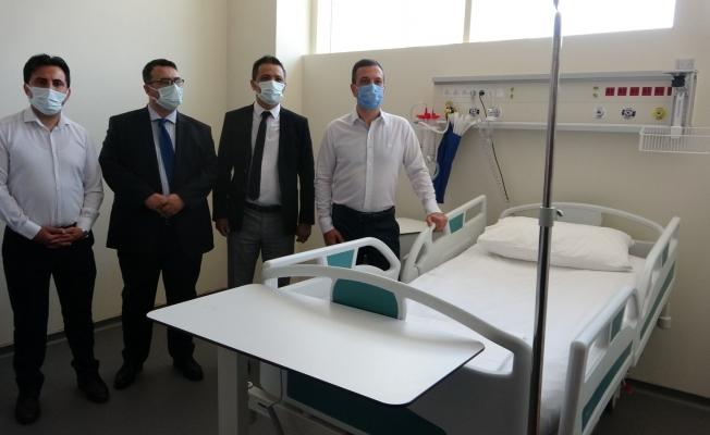 Kozan Devlet Hastanesi yeni yoğun bakım ünitesi hizmete girdi