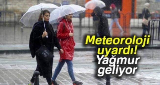 Meteoroloji'den Alanya'ya yağmur uyarısı!