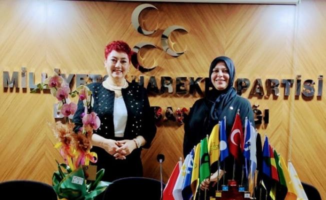 """MHP Bursa Kadın Kolları Başkanı Duzcu: """"Türk kadını, Türk milliyetçisidir"""""""