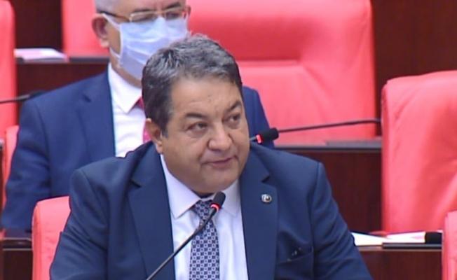 MHP'li Fendoğlu, TBMM'de konuştu